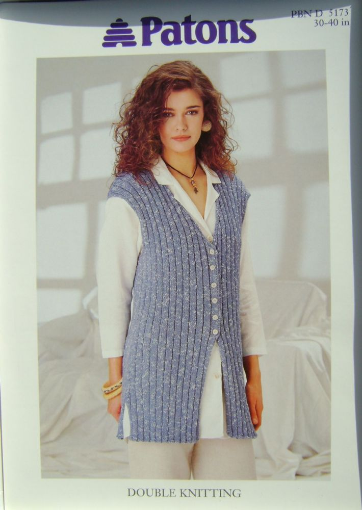 Patons Knitting Pattern 5173